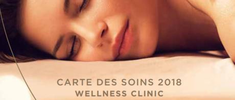 CARTE DES SOINS 2018 WELLNESS CLINIC